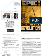 Bulletin - February 3, 2013