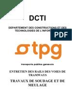 DT-Annexe3 Entretiendesrailsdesvoiesdetramways Travauxdesoudageetdemeulage