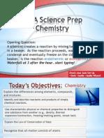 PSSA Prep Chemistry