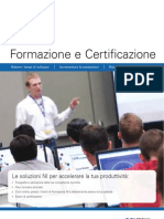Training & Certification Brochure_1 Half 2012