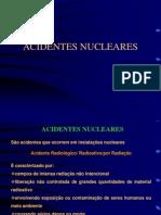 ACIDENTES NUCLEARES - apresentaçao PowerPoint