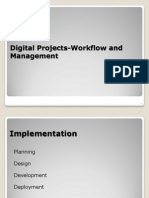 Digital Project Workflow