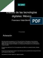 Efectos de las tecnologías digitales