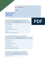 Malla Curricular de Linguistica