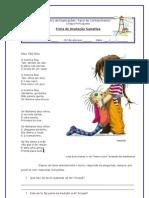 Teste 10 - A Menina Feia_Poesia