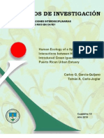 Cuaderno 13. Human Ecology of a Species Introduction:Interactions between Humans and IntroducedGreen Iguanas in a Puerto Rican Urban Estuary