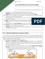 07 - EEI - Stereoisomeres Et Processus Bio