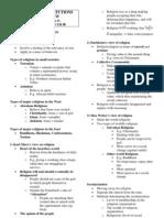 Major Social Institutions Final Revision