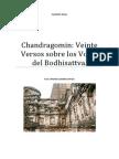 Chandragomin Veinte Versos Sobre Los Votos Del Bodhisattva