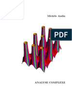 Analyse Complexe Audin