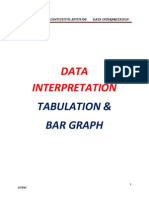 Datainterpretation Tabulation and Bar Graph