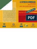 Panorama General -La Rep. Dominicana en 2030