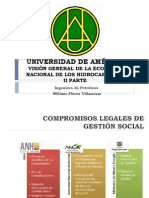 Visión General de la Economía Nacional del Petróleo - FUA - II PARTE