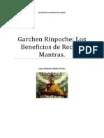 Garchen Rinpoche Los Nueve Beneficios de Recitar Mantras
