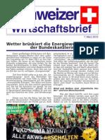 Schweizer Wirtschaftsbrief 03-2013