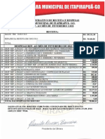 Receitas-Despesas Fevereiro 2013