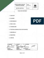 GCF-PR-016 Manejo Hospitalario de Cadena de Custodia