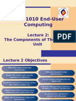 Lecture 2 - The Components of the System Unit