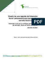 Extensin Rural Enfoque Participativo y Mercado