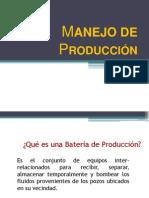 Manejo de Producción