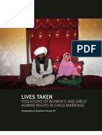 2011 Child Marriage Briefing WRD