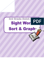 Sight Word Sort and Graph Word Study Station