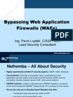 Bypassing Waf