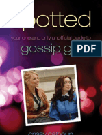 Crissy Calhoun-Spotted Your One and Only Unofficial Guide to Gossip Girl(2009)