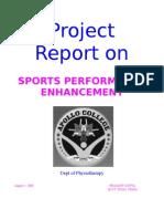 Sports Performance Enhancement