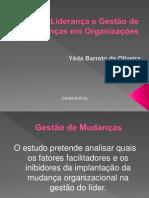 1-Liderança e gestão de mudanças nas orgs