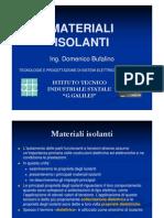 B7 - MatIsolanti