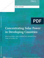 Concentrating Solar Power in Developing Countries