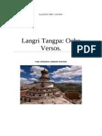Langri Tangpa Ocho Versos