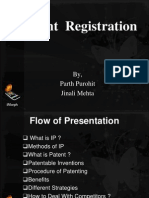 patent registration in india-.ppt