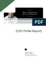 James Sinegal - CEO Profile Report