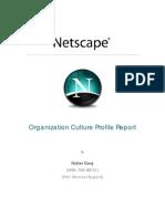 Netscape - OrG Culture Report