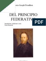 Proudhon - Del Principio Federativo