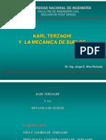 Terzaghi y La Mecanica de Suelos