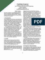 Classifying Groupware