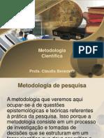 Aula 1-Metodologia Da Pesquisa Cientifica