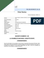 LEY-Ley de Amparo Exhibicion Personal y de Constitucionalidad DECRETO No. 1-86