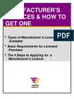 Manufacturers Brochure