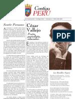 Boletín 0004, Contigo Perú; Navarra, España