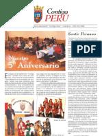 Boletín 0001, Contigo Perú; Navarra, España