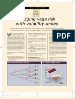 Hedging Vega Risk With Volatility Smile