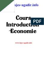 Introduction Economie S1