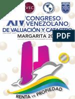 Información, Programa e Inscripcion CONGRESO XIV  - 2013  Isla Margarita Venezuela