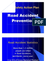 Road Safety Project PowerPoint Presentation free download