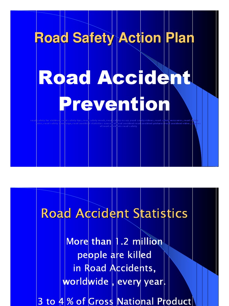 Road Safety Project PowerPoint Presentation free download | Traffic ...