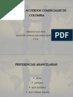 Principales Acuerdos Comerciales de Colombia